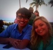 John and intern, Amanda Terrell at the 2013 Florida Literacy Conference