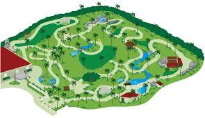 sunken gardens map